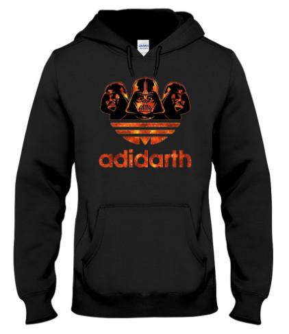 Star Wars Adidas Darth Vader StormStooper T Shirt Hoodie