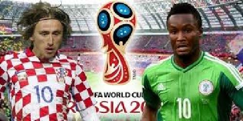 كرواتيا تتصدر المجموعة الرابعة بالفوز على نيجيريا 2-0