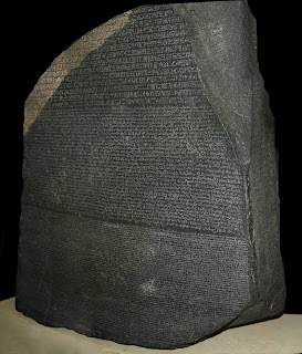 The Rosetta Stone proved to be the key to deciphering Egyptian hieroglyphs