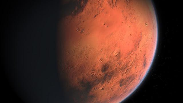Alien Sembunyi di Bawah Danau Garam Planet Mars