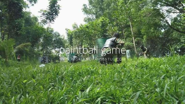 Outbound dan Paintball di Sentul Bogor