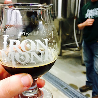 Drinking Iron Monk's Milk Stout  with Co-Founder Dave Monk