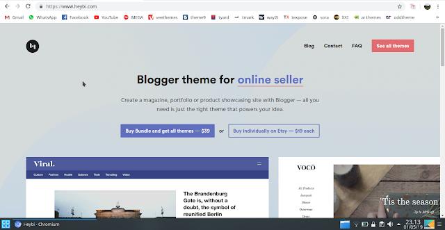 7+ Situs Blogger Template Terbaik Karya Anak Bangsa 2019 2