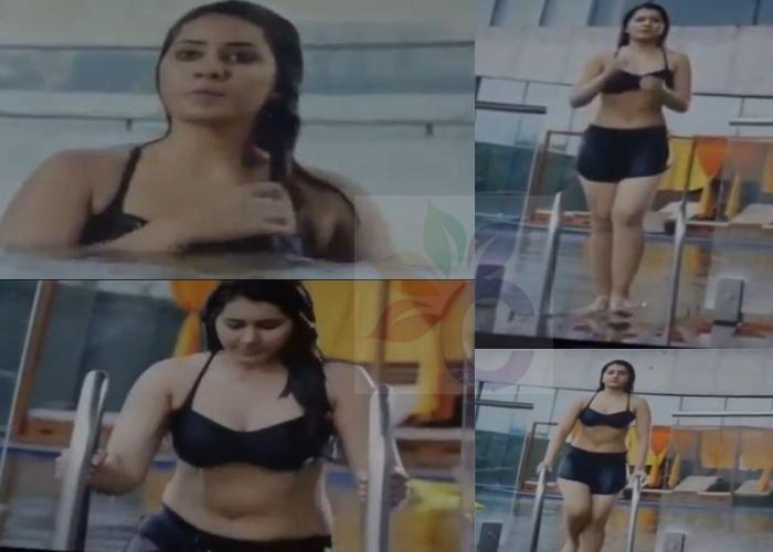 Rashi Khanna's Sexy Bikini-Swimsuit Photos-collage
