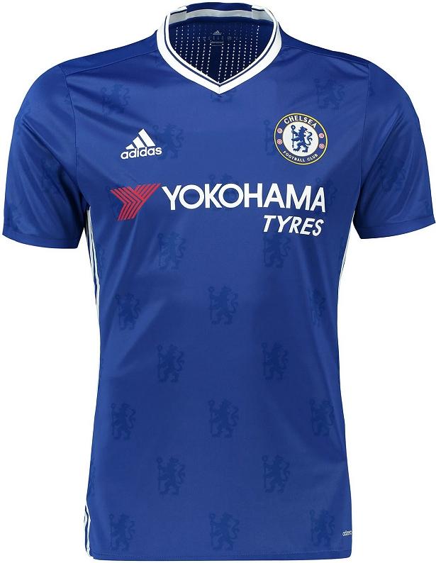 2fe459aeab 10 - Chelsea - Dentre os clubes europeus que já estão vendendo o modelo 2016  2017 de seus uniformes