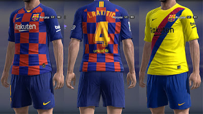 33854388d PES 2013 FC Barcelona Kits 2019 2020 by Micano ~ PES Revolusion