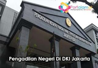 Alamat Pengadilan Negeri Di Provinsi Jakarta