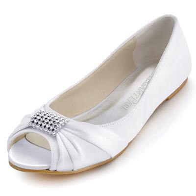 Zapatos de novia planos