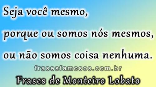 Frases de Monteiro Lobato