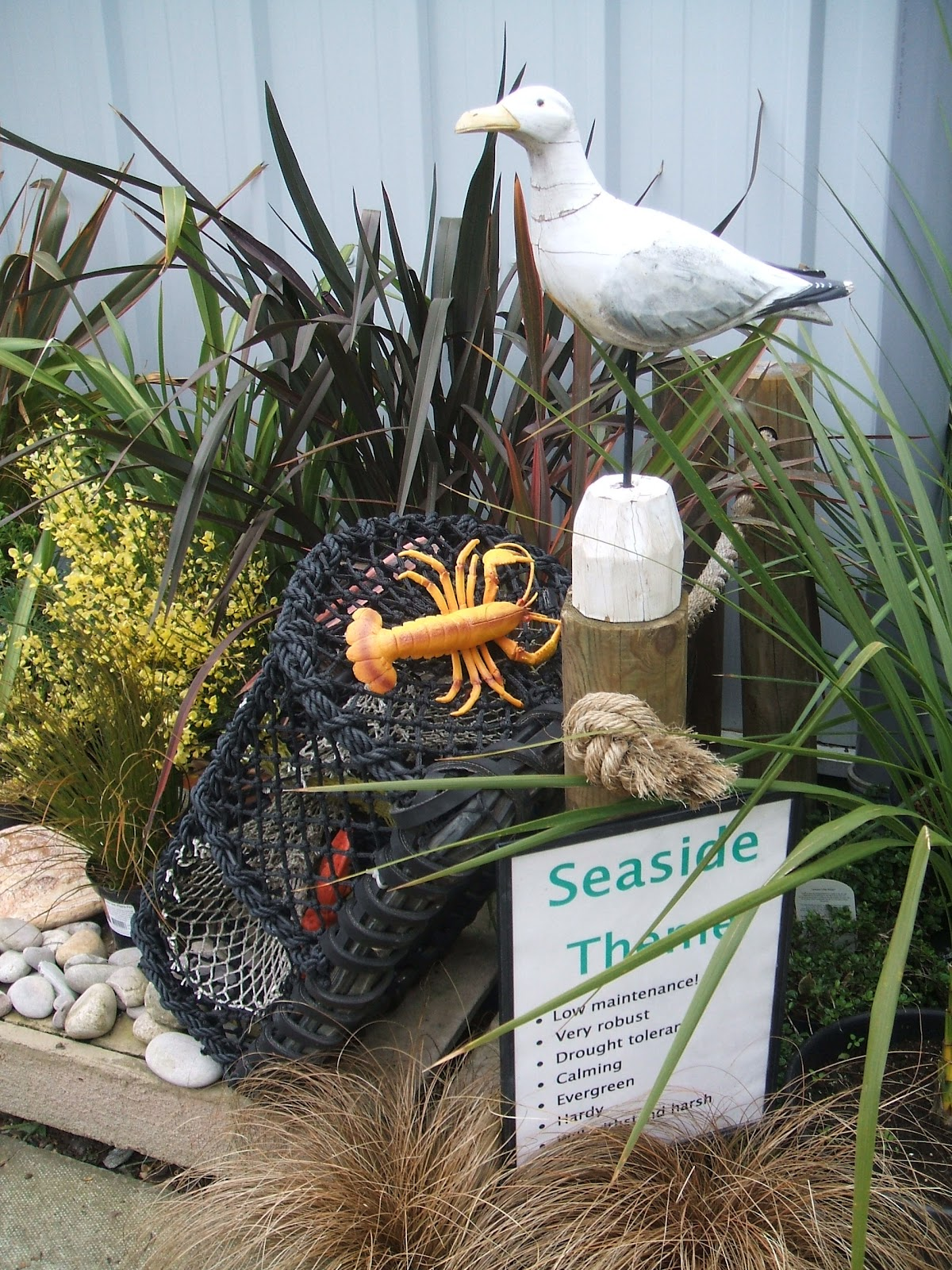 Seaside Theme My Local Thompsons Plant And Garden Centre Have Got Some Great Inspirational Planting Ideas Going On At The Moment