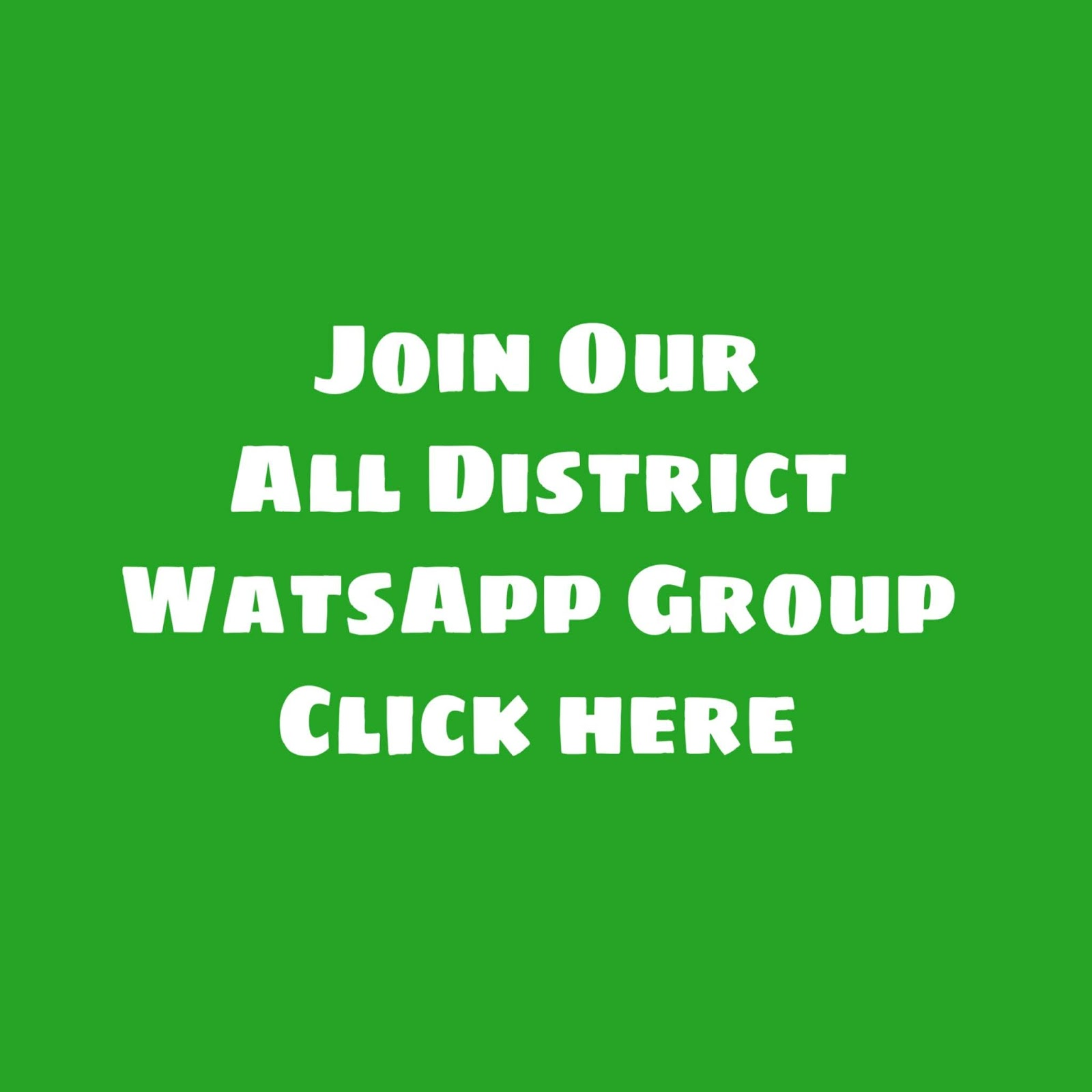 Join Gujarat All District Job Updates WhatsApp Group Link