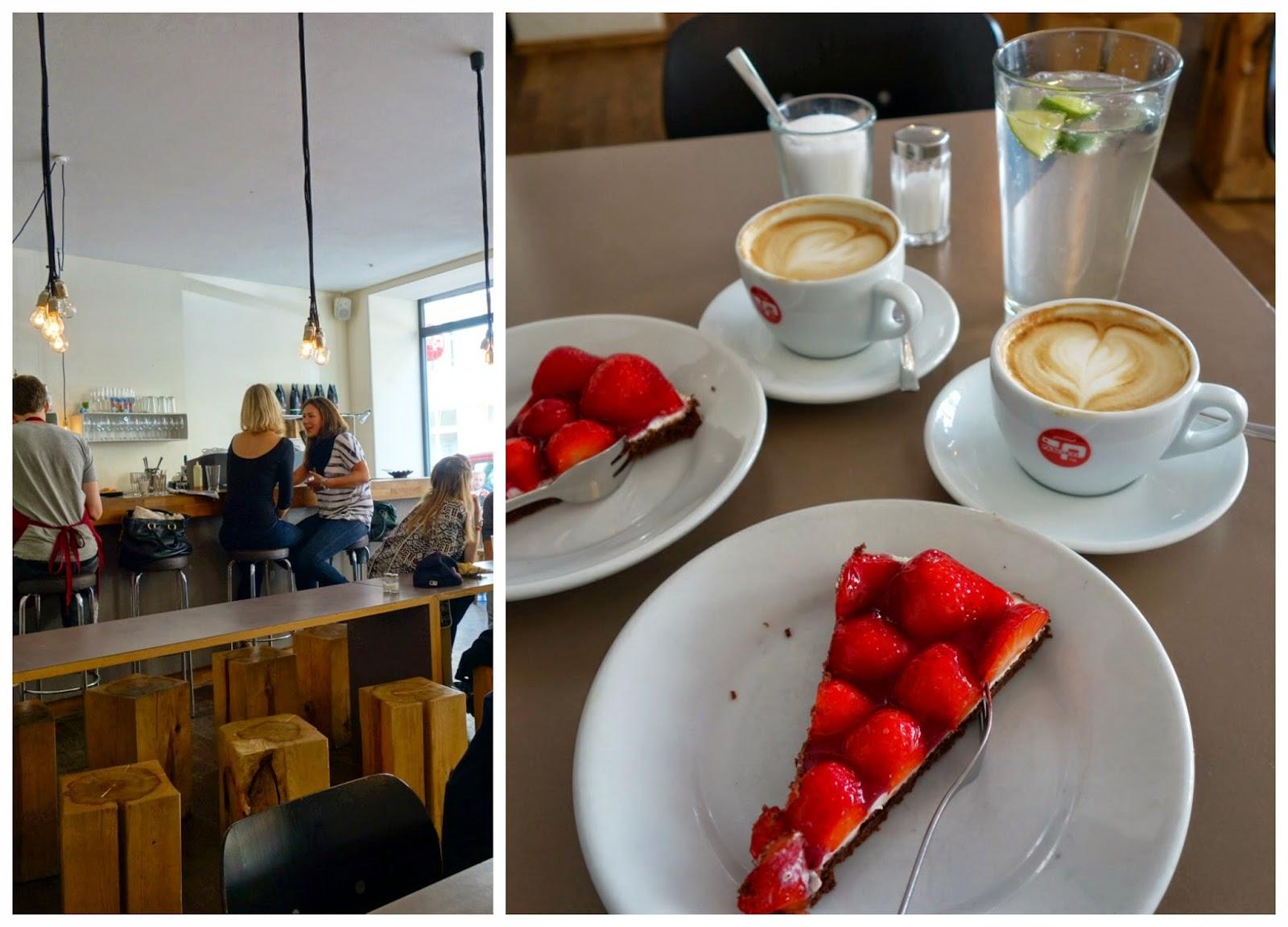 Unterwegs Und Kaffee und Kuchen Kaffee und Kuchen in München Laden (Schwabing)