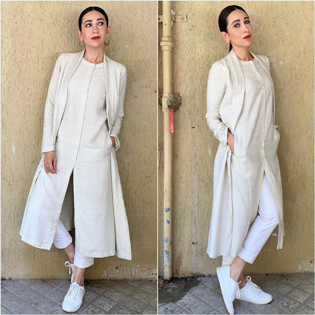 Karisma Kapoor Wears Antar Agni