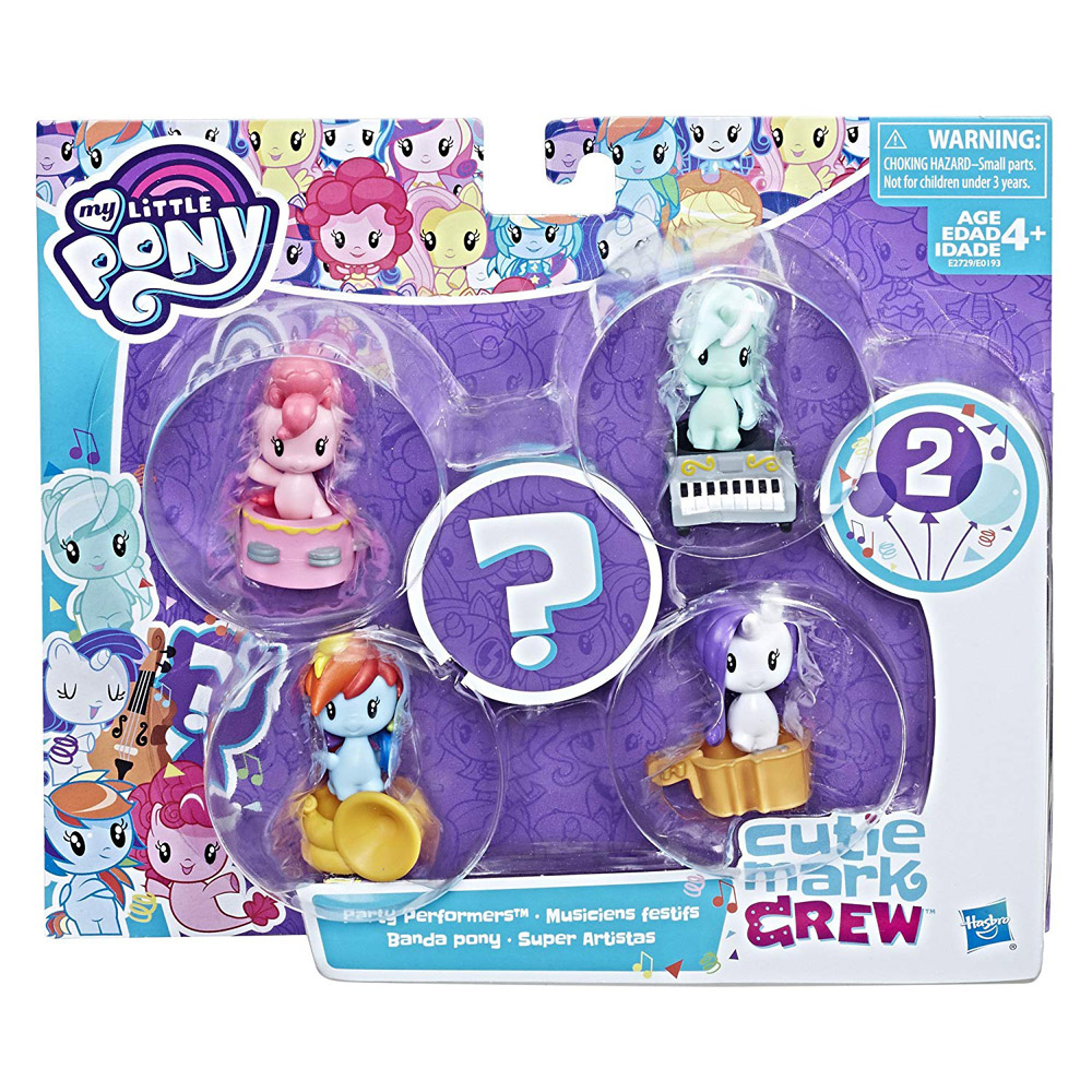 dfd9a1b69f2 ... My Little Pony 5-pack Party Performers Pinkie Pie Seapony Cutie Mark  Crew Figure