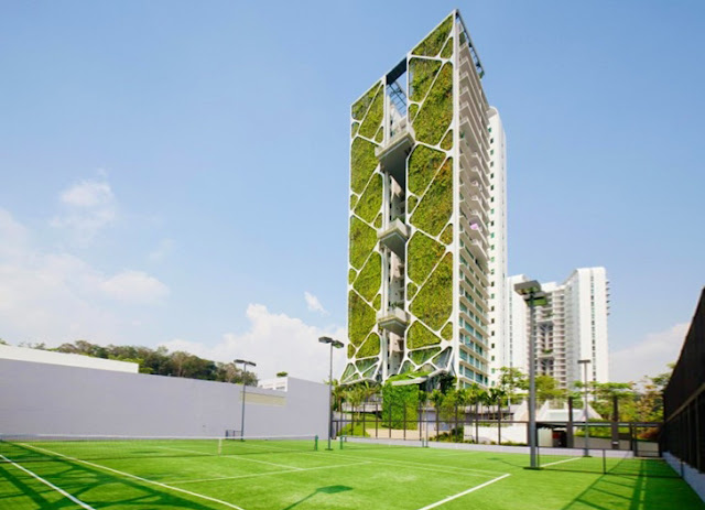 Tree House - The World's Largest Vertical Garden