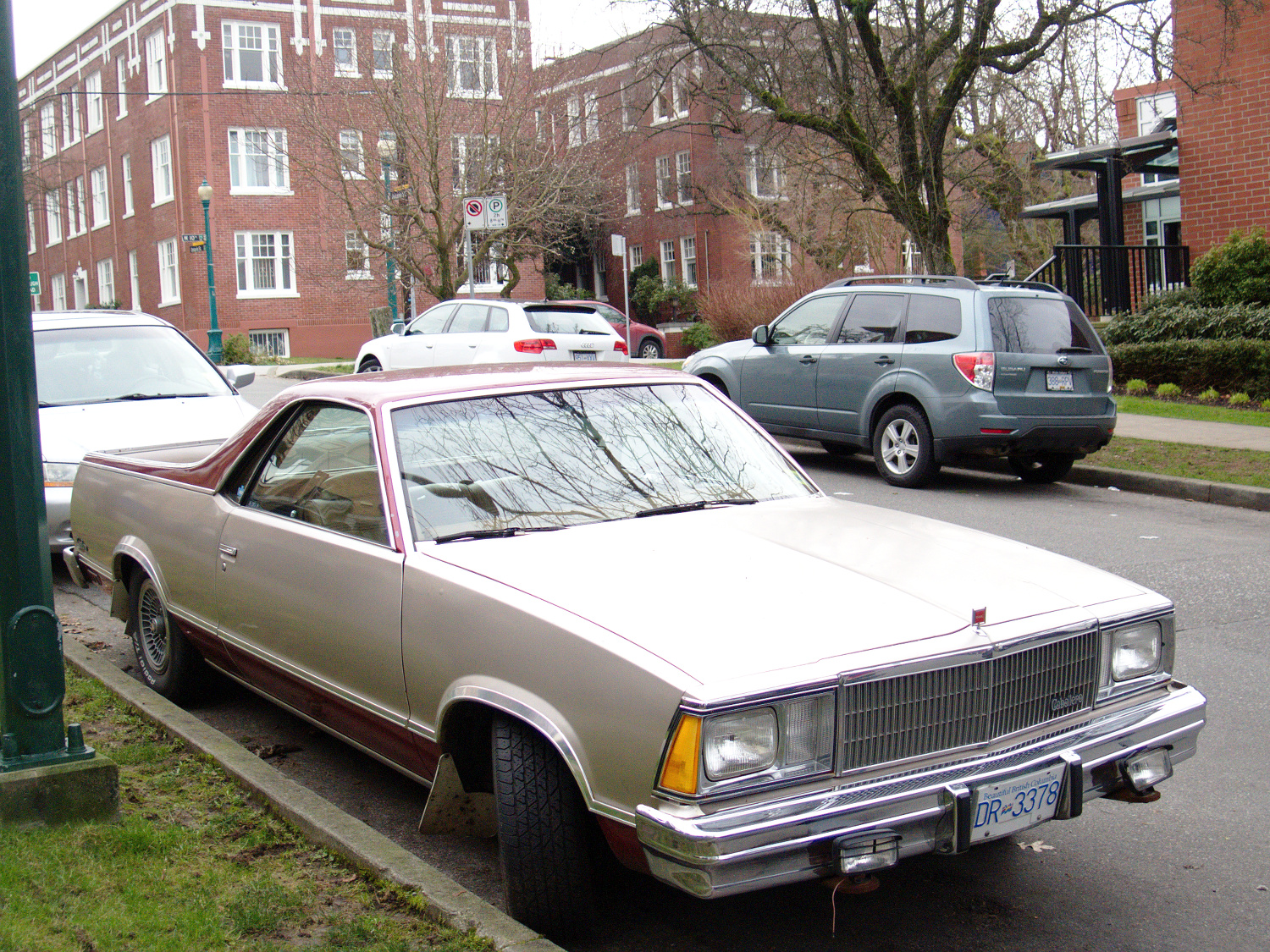 Old Parked Cars Vancouver: 1980 GMC Caballero