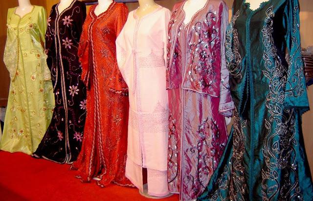 Marokańskie kaftany na wesele