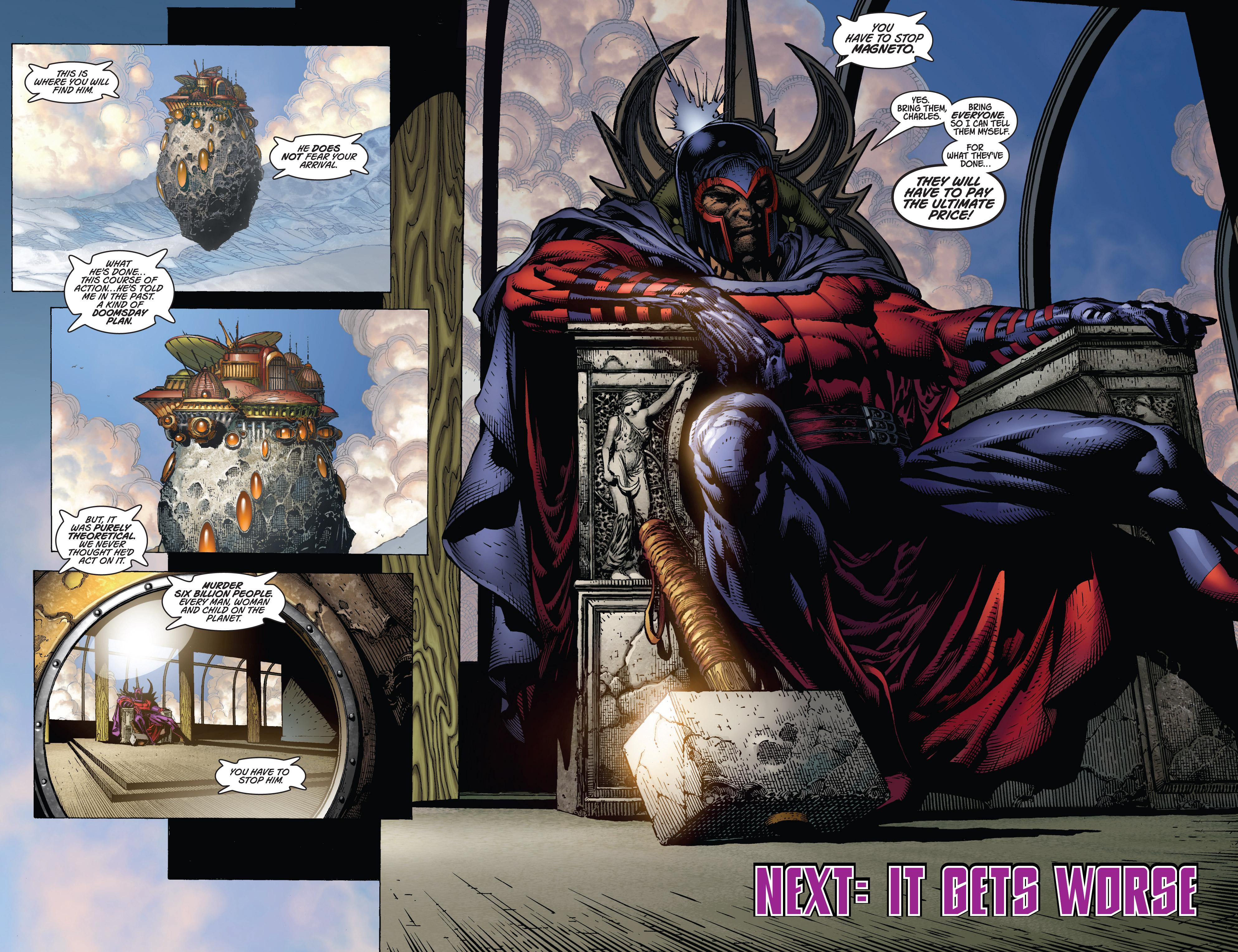 Read online Ultimatum comic -  Issue #1 - 23