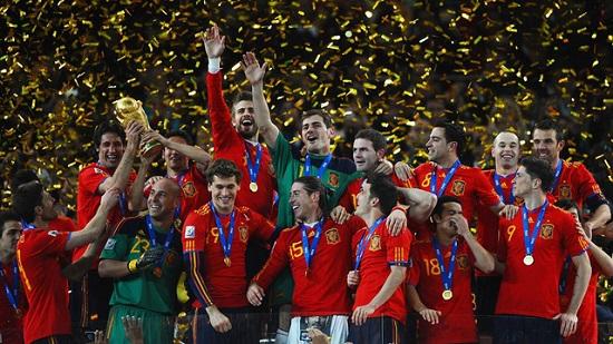 TBN từng vô địch World Cup 2010
