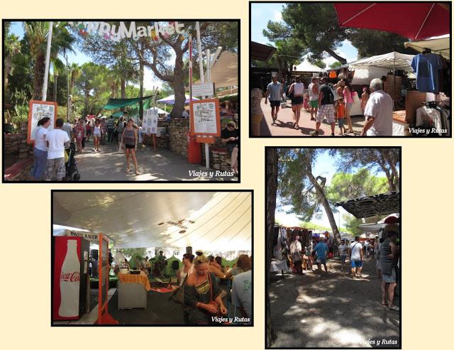 Hippy market de Punta Arabí