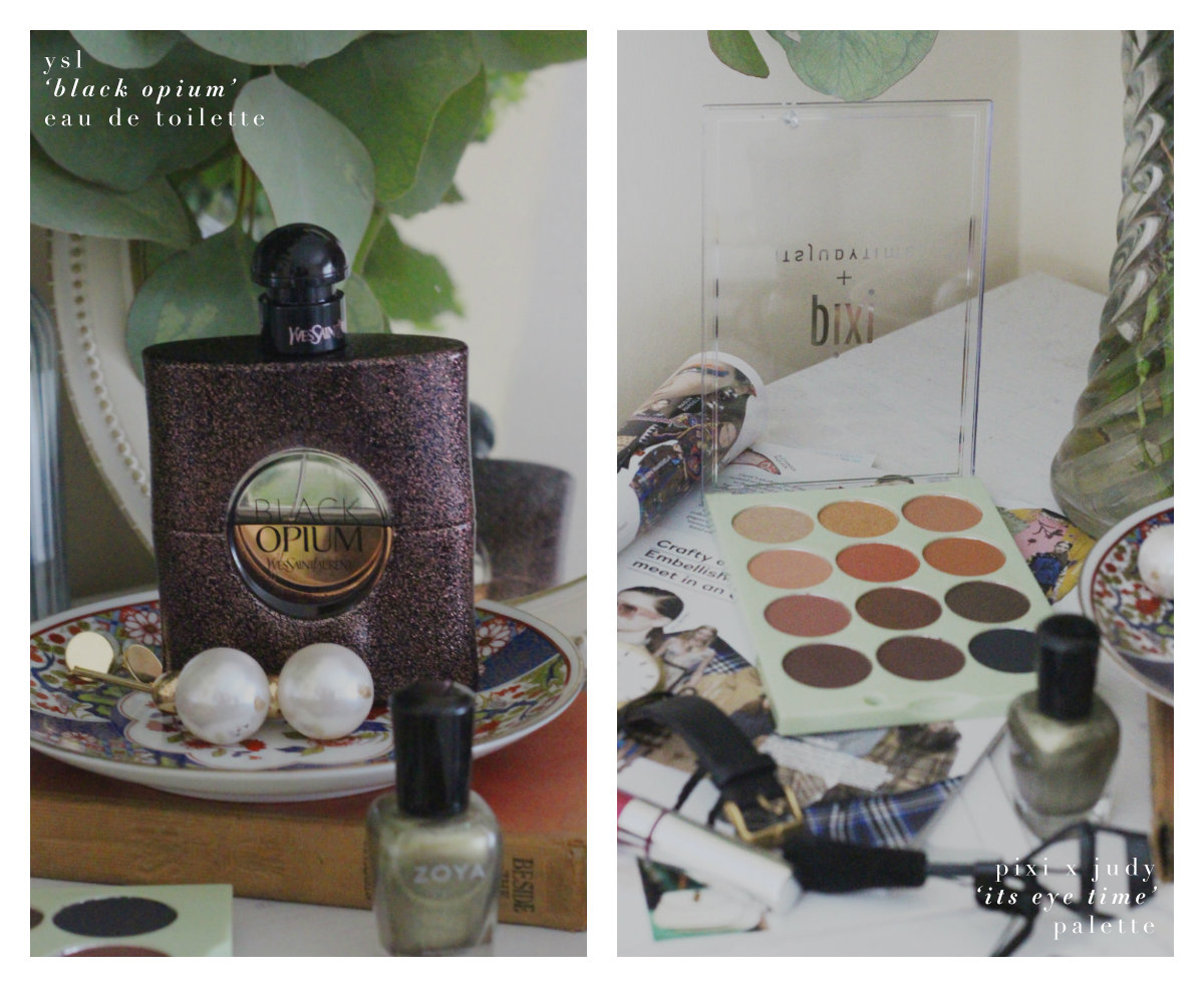 ITS EYE TIME PALETTE - YSL BLACK OPIUM - ZOYA NAIL POLISH REVIEW