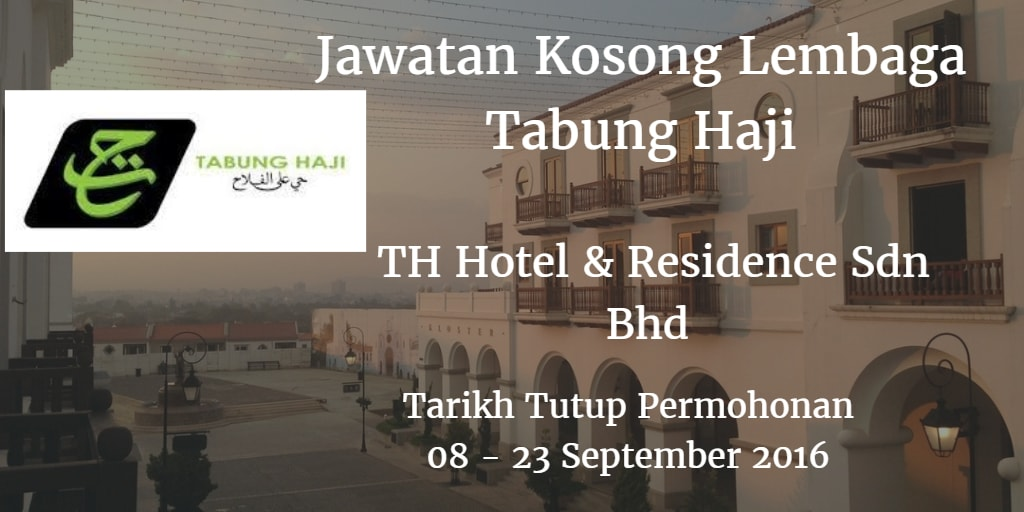 Jawatan Kosong Lembaga Tabung Haji 08 - 23 September 2016