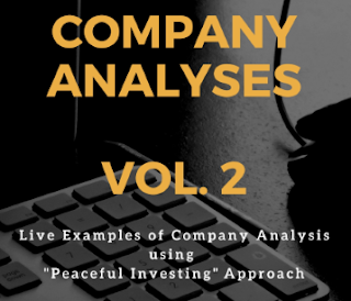 Company analysis (volume 2)using Peaceful Investing Stock Analysis approach, learn equity research analysis, value investing, fundamental investing, Peaceful Investing book, Value investing book, Dr Vijay Malik book, Dr Stock book, ebook, e-book, Stock Investing Guide book
