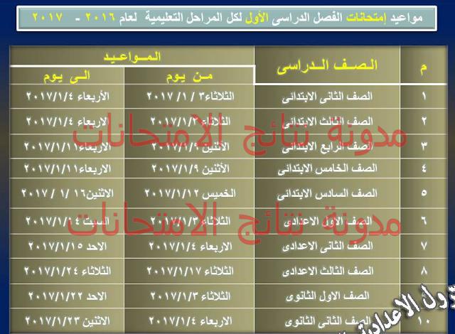 Qalyubiyah schedule