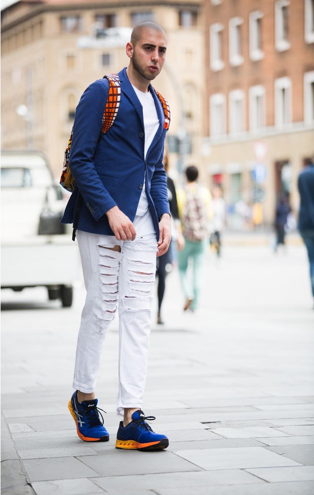 Giacca jeans uomo come abbinarla