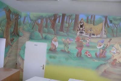 Malowanie pokoi dziecięcych, aranżacja ścian Gdańsk, Gdynia