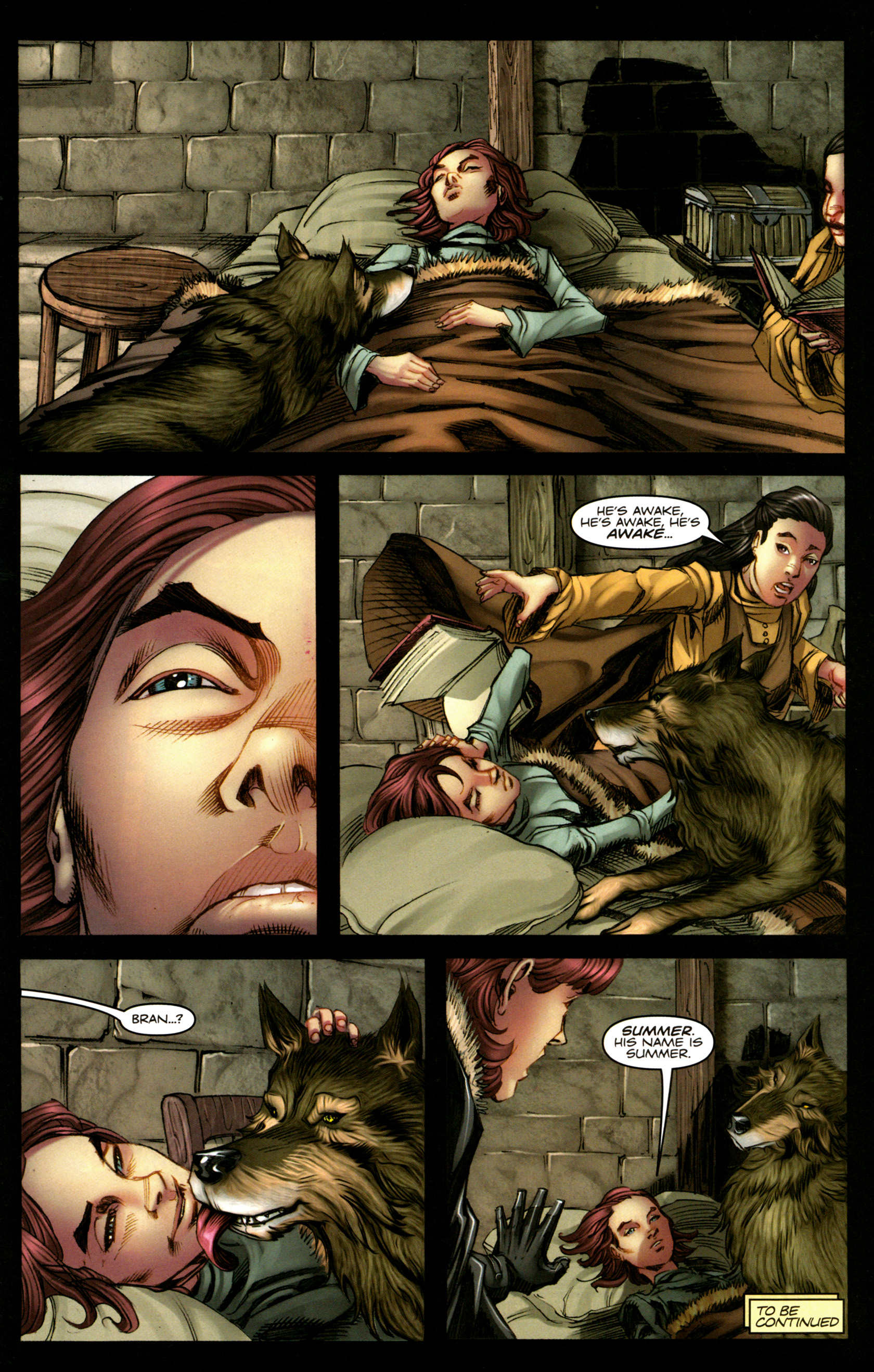 Read online A Game Of Thrones comic -  Issue #5 - 31