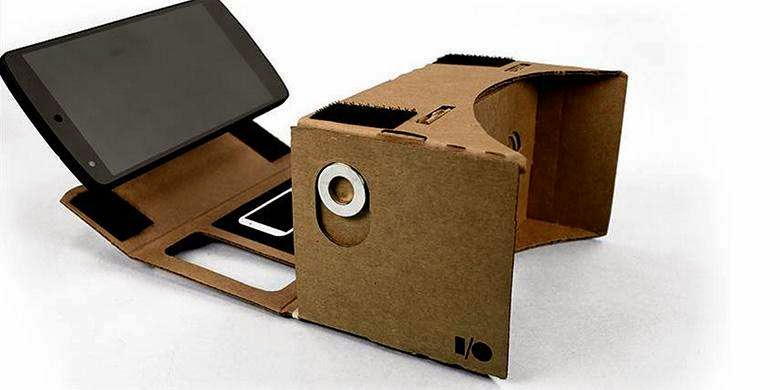 Smatrphone with Google 3D Kardus