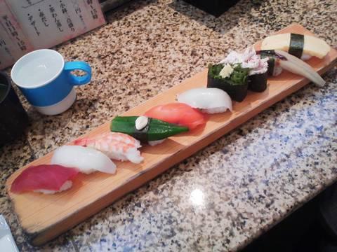 寿司10種1 回転寿司 鮮(せん)