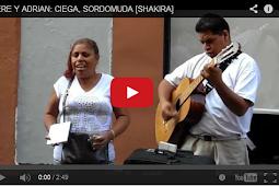 La Impresionante voz de una mujer invidente con La voz idéntica a la deShakira [VIDEO]