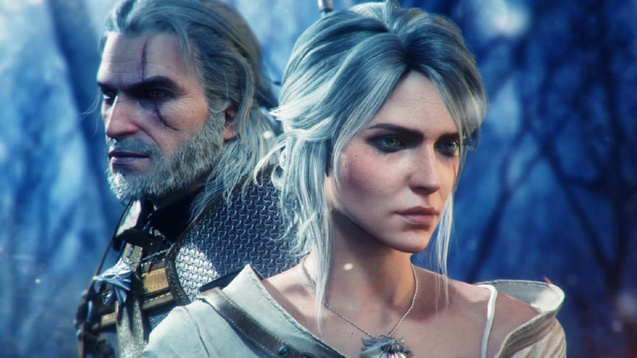 Geralt and Cirilla Wallpaper Engine