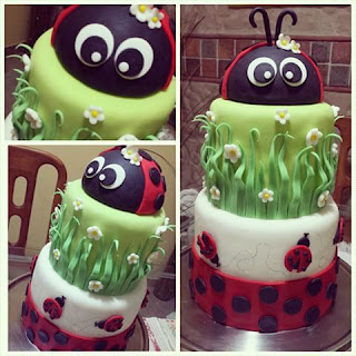 Tortas de Ladybug