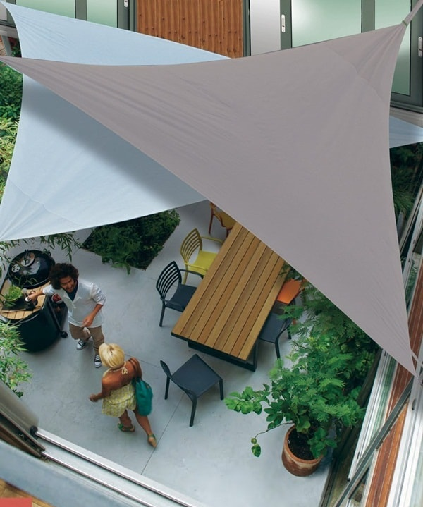 Discover The Advantages of Sail Awnings - Exterior Design Ideas