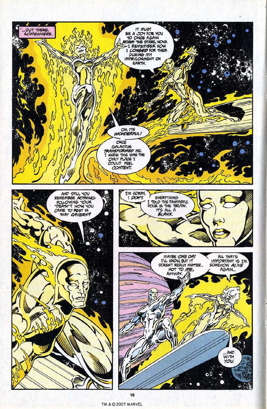 Read online Silver Surfer (1987) comic -  Issue #97 - 12