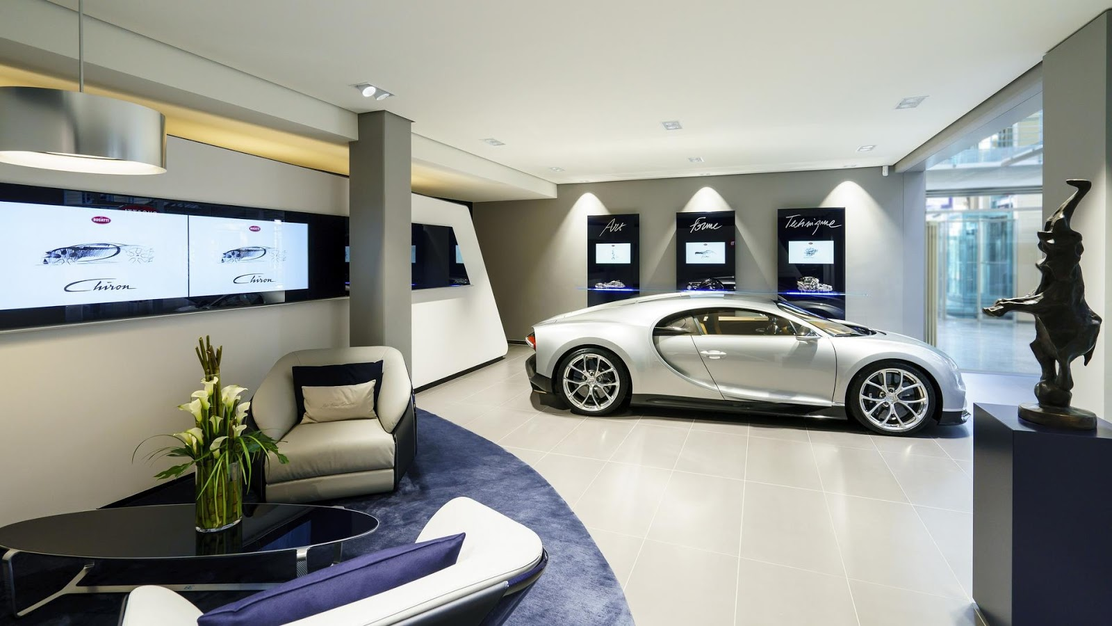 Lamborgini Sports Car Hd Wallpaper Bugatti Opens Showroom In Hamburg Following High Chiron Sales