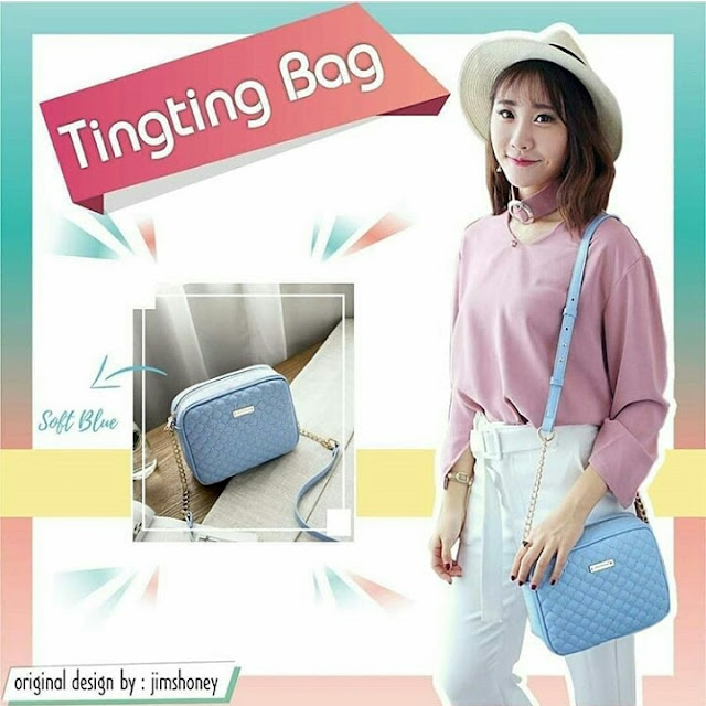Jims Honey Ting Ting Bag Skyblue