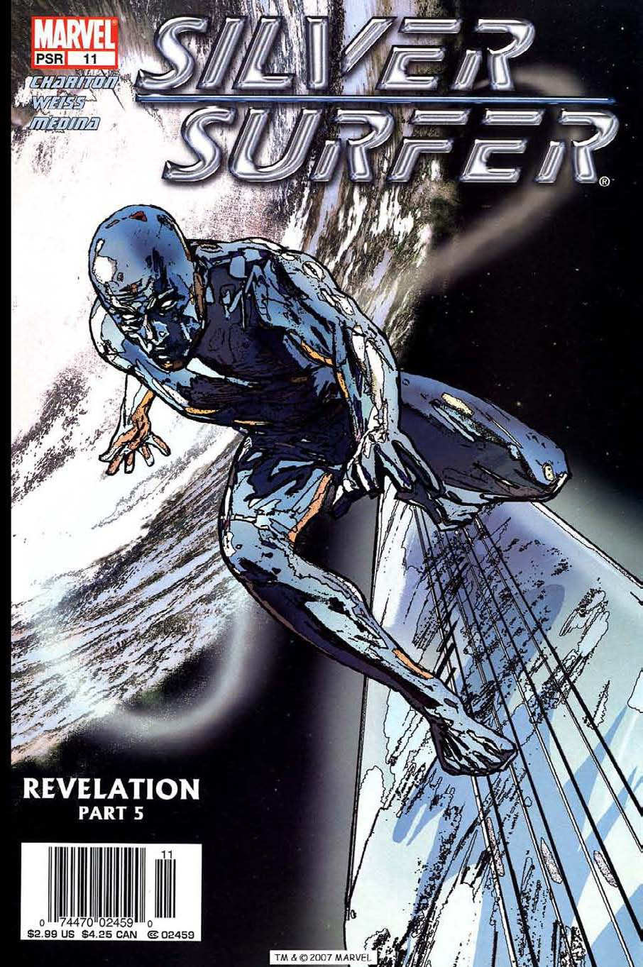 Read online Silver Surfer (2003) comic -  Issue #11 - 1