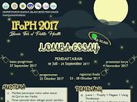 Lomba Esai Islamic Festival of Public Health 2017 Digelar UNAIR Surabaya