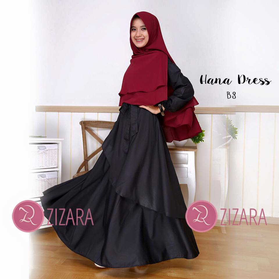 Gamis Zizara Hana Dress B8