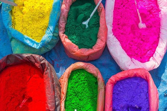 Holi festival of colors । India 2019 । होली है