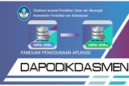 Petunjuk Lengkap Menyelesaikan Berbagai Masalah Pada Pengisian Dapodik Versi 2019