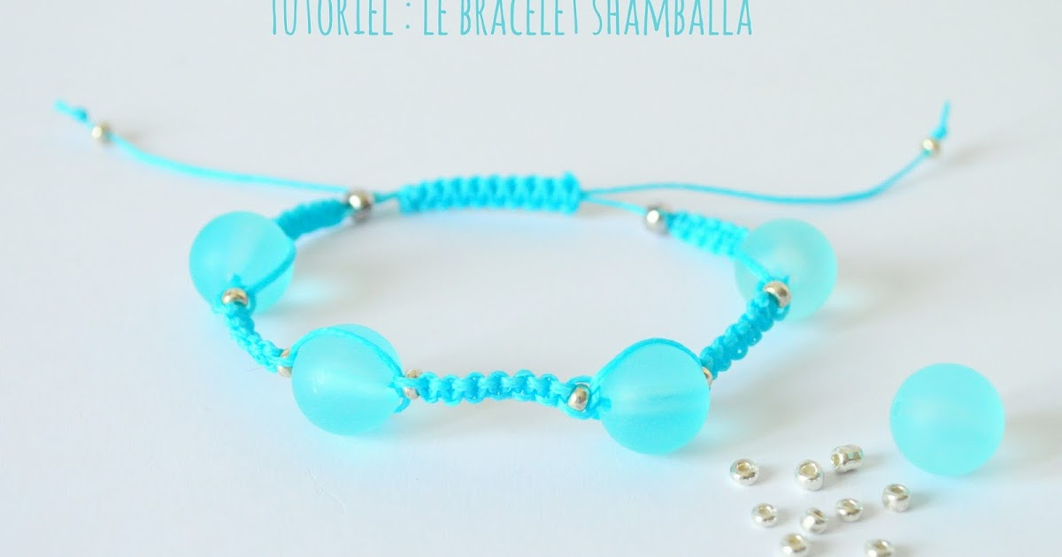 gabulle in wonderland tutoriel le bracelet shamballa. Black Bedroom Furniture Sets. Home Design Ideas