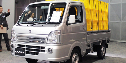 Mobil Dagang Suzuki Carry Diupgrade Tambah Irit!