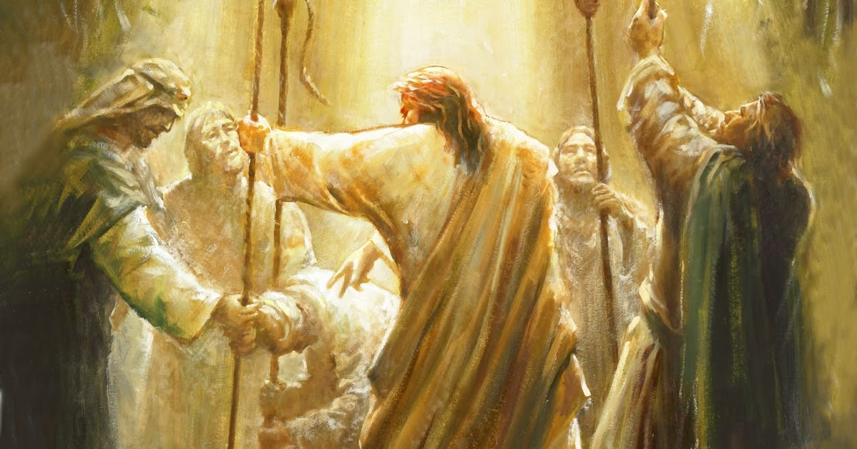 New Testament Thoughts Paralytic Healed And Forgiven