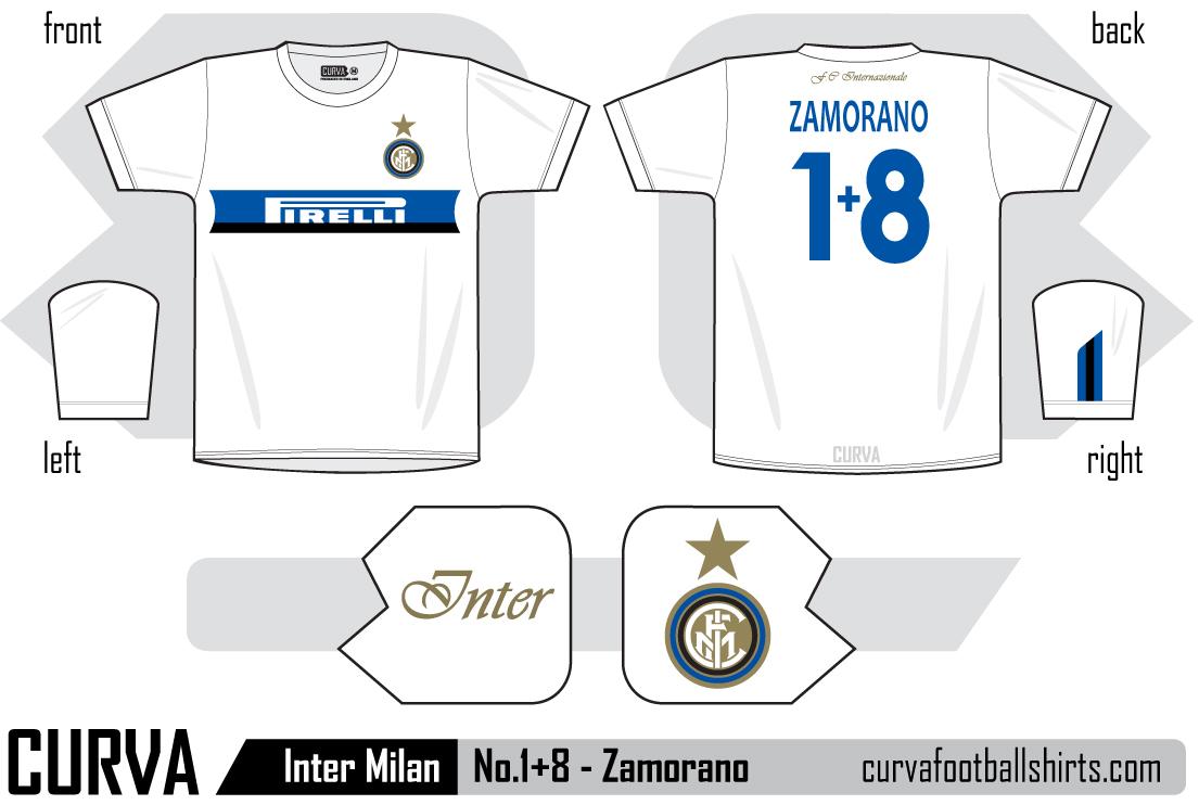 new arrivals e3288 83d5f Curva modern retro football shirts: Inter Milan 1998 - No.1+ ...