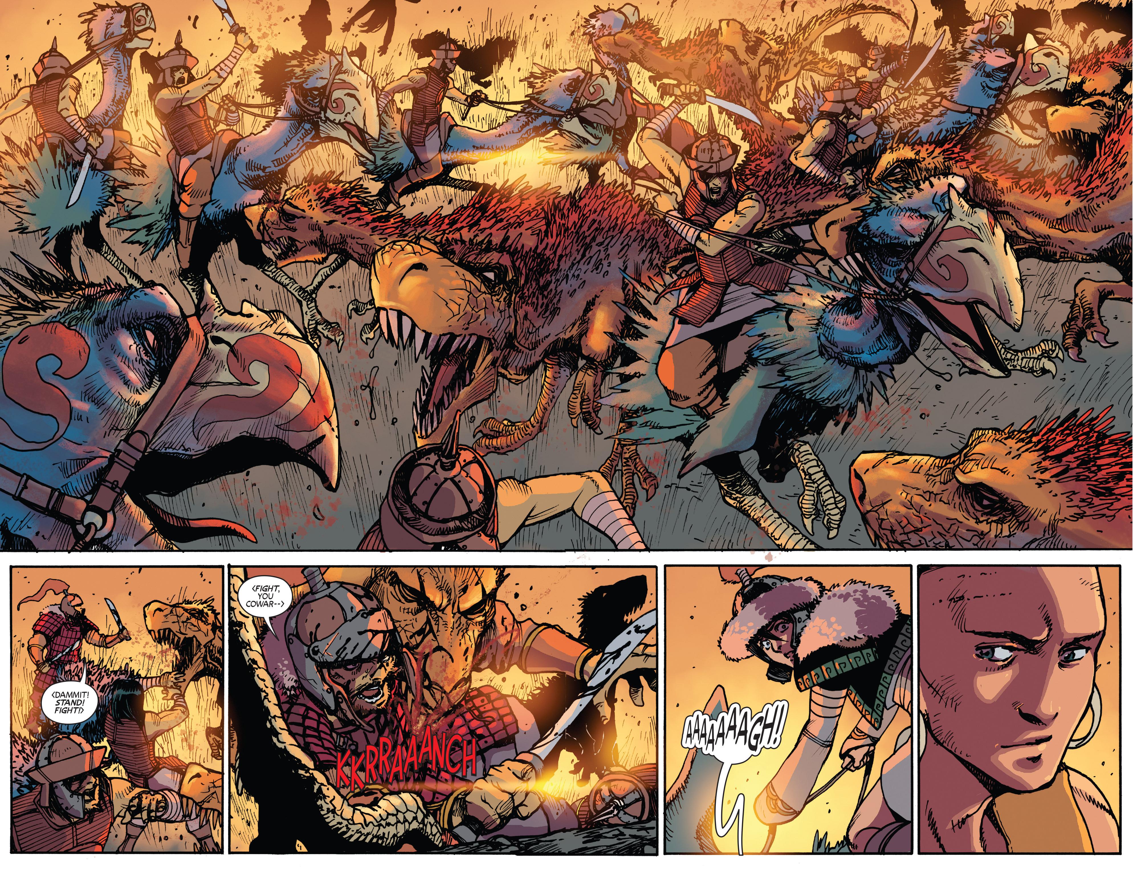Read online Turok: Dinosaur Hunter (2014) comic -  Issue # _TPB 2 - 82